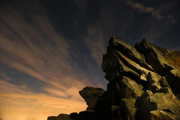 Wolfswarte unter Sternen-2