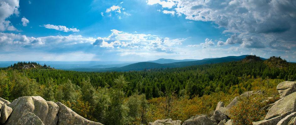 Berge, Felsen und Täler: Hohnekamm
