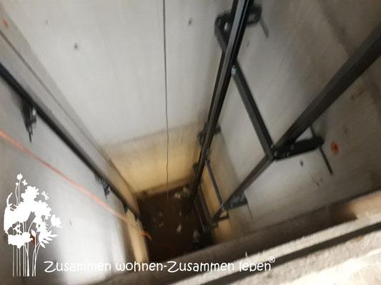 7 Aufzugsmontage Haus IV