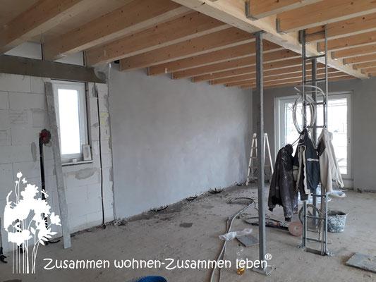 4 Haus III  OG-Putzarbeiten