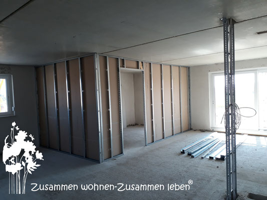 5 Trockenbauarbeiten Haus IV