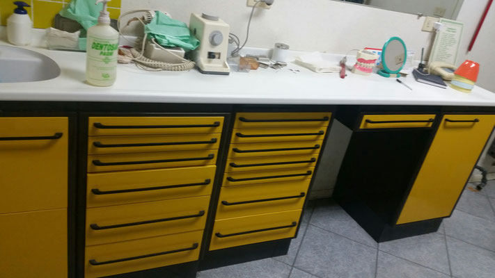 Vendo mobili per dentisti riuniti odontoiatra for Arredamento laboratorio odontotecnico