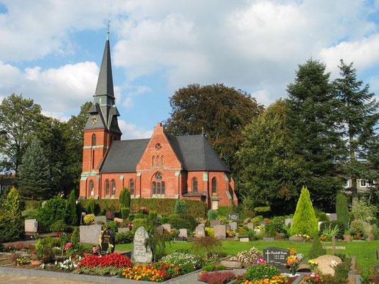 Evangelisch-Lutherische Martin-Luther-Kirche Foto: © H.P. Brinkmann