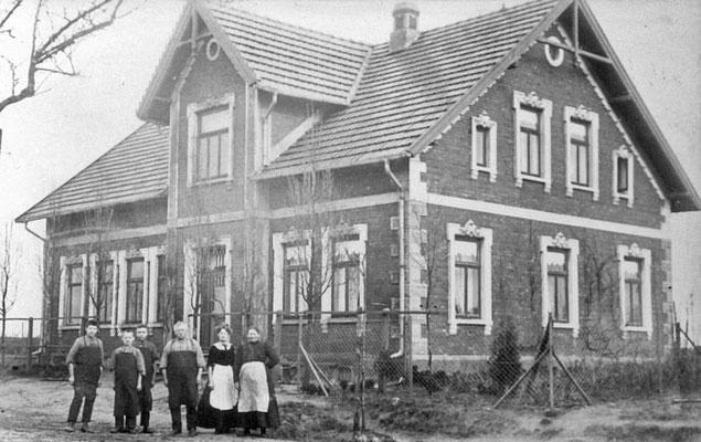 Schusterfamilie Kunst, heute Familie Mucker 1912