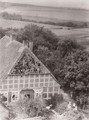 Rehling 1903, vom Kirchturm aus fotografiert