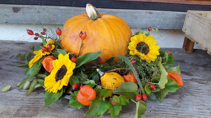 Herbst-Hochzeitsdekoration
