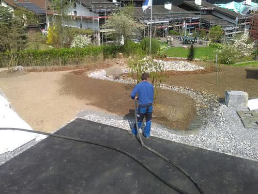 Hydrosaat bei Spielplätzen