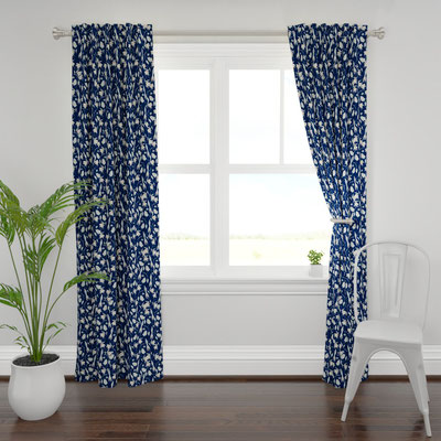 Curtains from Roostery