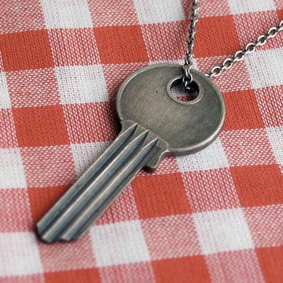Kie - silver pendant