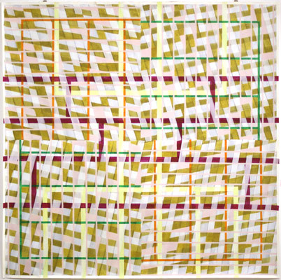 Improvisation - 200 x 200 cm - Acryl auf Papier