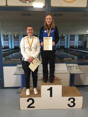 U23 weiblich: 1. Ann-Katrin Walz, 2. Adine Riebsamen