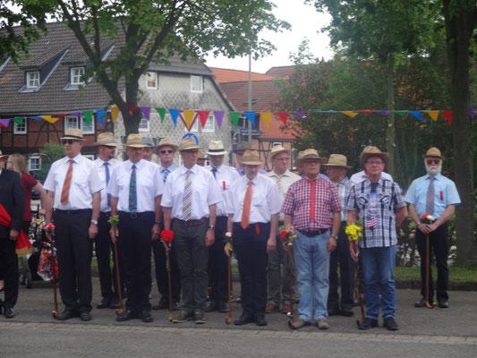 Antreten des Bürgerkorps