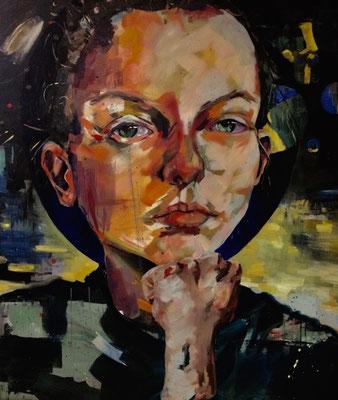 urban angel (m3), 2017, oil on canvas, 120 x 135 cm