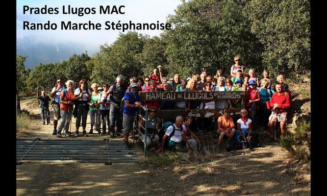 Prades Llugos MAC Rando marche stéphanoise