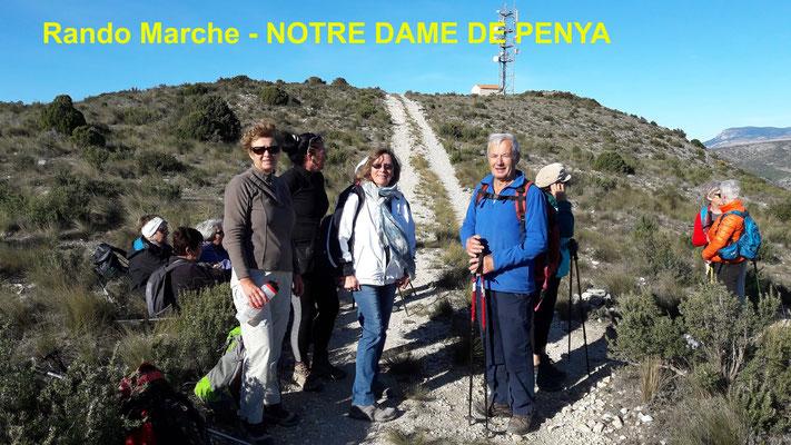 Rando Marche - NOTRE DAME DE PENYA
