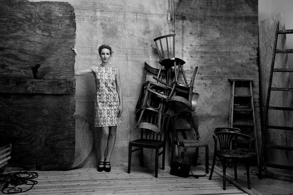 Fotoshooting für eine befreundete Modedesignerin