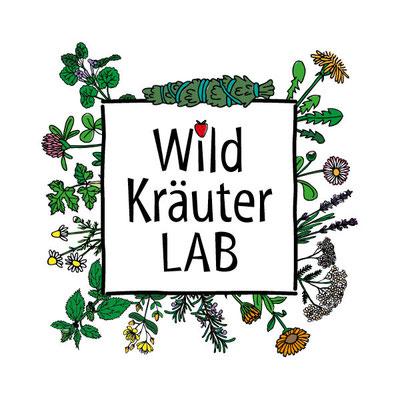 WildkräuterLAB, Logo & Corporate Design, 2019