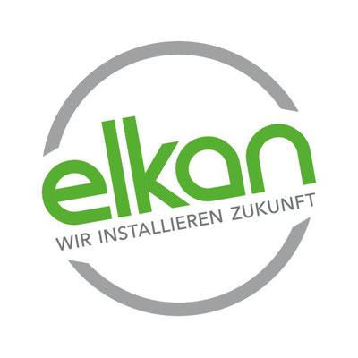 """Elkan Logo, für die Agentur """"Kamp & Werbung"""", 2019"""