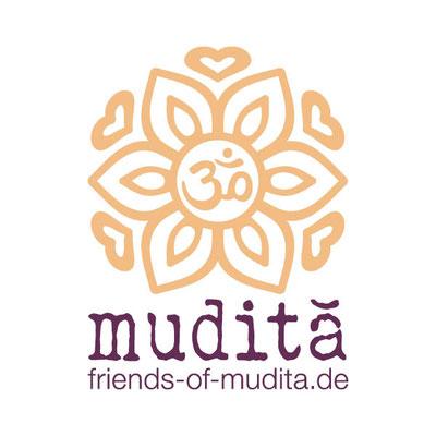 Friends of Mudita, Logo & Geschäftsausstattung, 2018