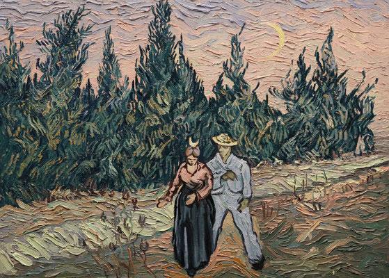 Próba rekonstrukcji zaginionego obrazu Vincenta van Gogha