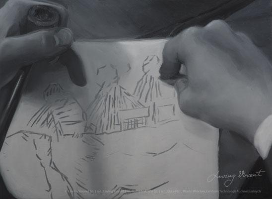 Vincent szkicuje
