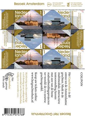 Postzegel 2012 Amsterdam 2008 03