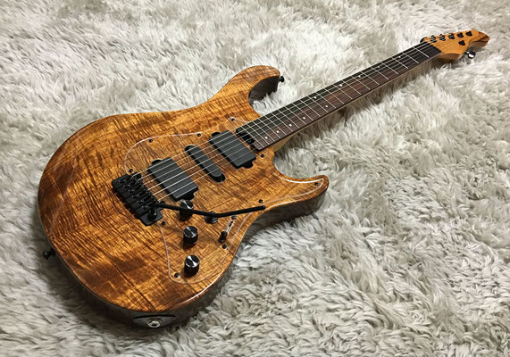 Stellar Custom #002 Hawaiian Koa Top