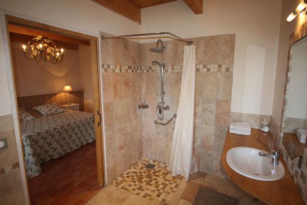 Chambre Romance, salle de bains