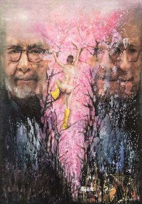 JINY LAN  I  New perspectives on modern masters  I  Mischtechnik auf Leinwand  I  100 x 70 cm