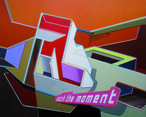 LUCIA DELLEFANT  I  catch  I  Acryl auf Leinwand  I  80 x 100 cm