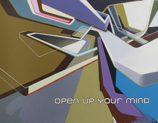 LUCIA DELLEFANT  I  openup  I  Acryl auf Leinwand  I  140 x 180 cm