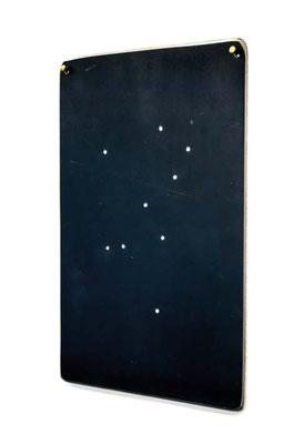 ANGELA SCHILLING  I  Das Sternbild Kunst  I Stahl, falsche Diamanten  I  29,5 x 23,5 x 0,3 cm  I  Auflage 10