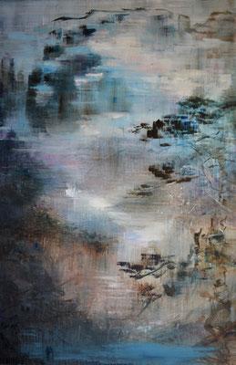 XIANWEI ZHU I timeless I Acryl auf Leinwand I 230 x 150 cm