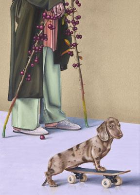 HOLGER KURT JÄGER  I  Edition  I  Modus operandi  I  Fine Art Print auf Bütten  I  77 x 52 cm  I  Auflage: 20 +  4 Artist's Proofs  I  mit Modellrahmen, Passepartout und Museumsglas  I  Euro 890,-