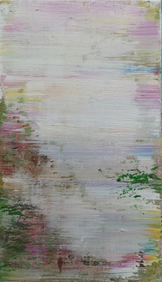 XIANWEI ZHU  I  wonderful world  I  Acryl auf Leinwand  I  41 x 24 cm