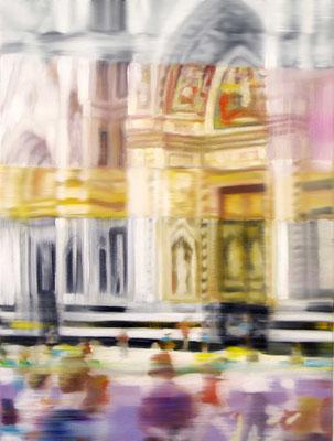MARTIN HERLER  I  Florence I  I  Öl auf Leinwand  I  80 x 60 cm