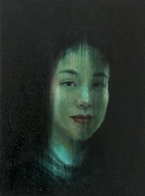 JINY LAN  I  Eurasia - Yaxia  I  Öl auf Leinwand  I   40 x 30  cm