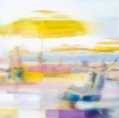 MARTIN HERLER  I  Miami  I  Öl auf Leinwand  I  60 x 60 cm