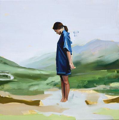 ALPAY EFE  I  Pathways  I  Öl auf Leinwand  I  80 x 80 cm