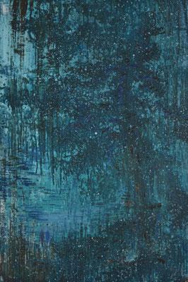 XIANWEI ZHU  I  of the beaten track  I  Acryl auf Leinwand  I  80 x 54 cm