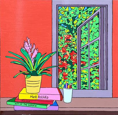 DEREK CURTIS  I  Forever Autumn  I  Lack auf Aluminium  I  90 x 90 cm