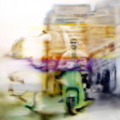 MARTIN HERLER  I  2  I  Öl auf Leinwand  I  60 x 60 cm