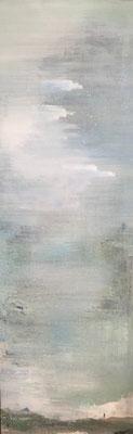 XIANWEI ZHU  I  cloud water  I  Acryl auf Leinwand  I  200 x 65 cm