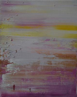XIANWEI ZHU  I  in may  I  Acryl auf Leinwand  I  41 x 33 cm
