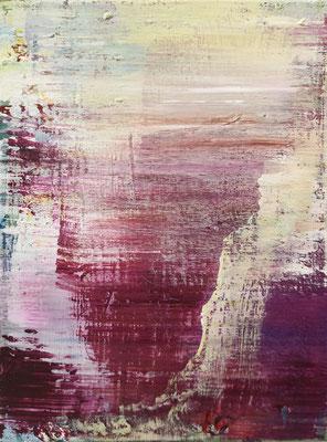 XIANWEI ZHU  I  the sun also rises  I  Acryl auf Leinwand  I  100 x 250 cm (3-teilig)
