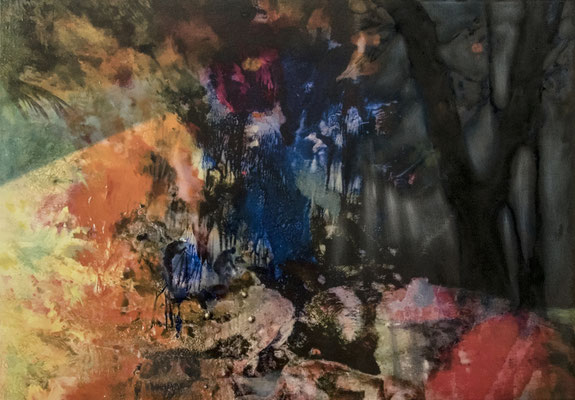 JINY LAN  I  Humboldt 2021  I  Mischtechnik auf Leinwand  I  70 x 100  cm