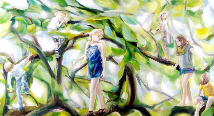 MARTIN HERLER  I    I  Öl auf Leinwand  I  140 x 260 cm