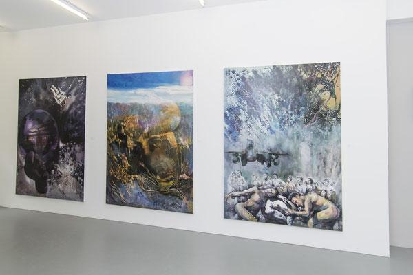 Ausstellungsansicht Jiny Lan
