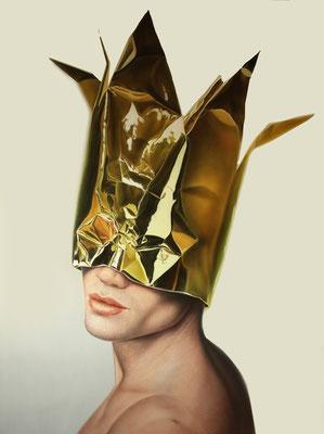 DAVID UESSEM  I  Royal Dancer  I  Öl auf Leinwand  I  140 x 110 cm