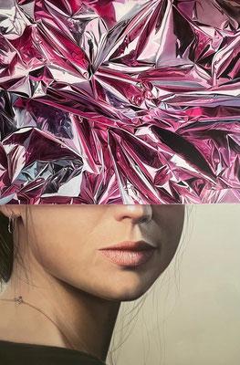 DAVID UESSEM  I  Wild Cherry  I  Öl auf Leinwand  I  180 x 120 cm